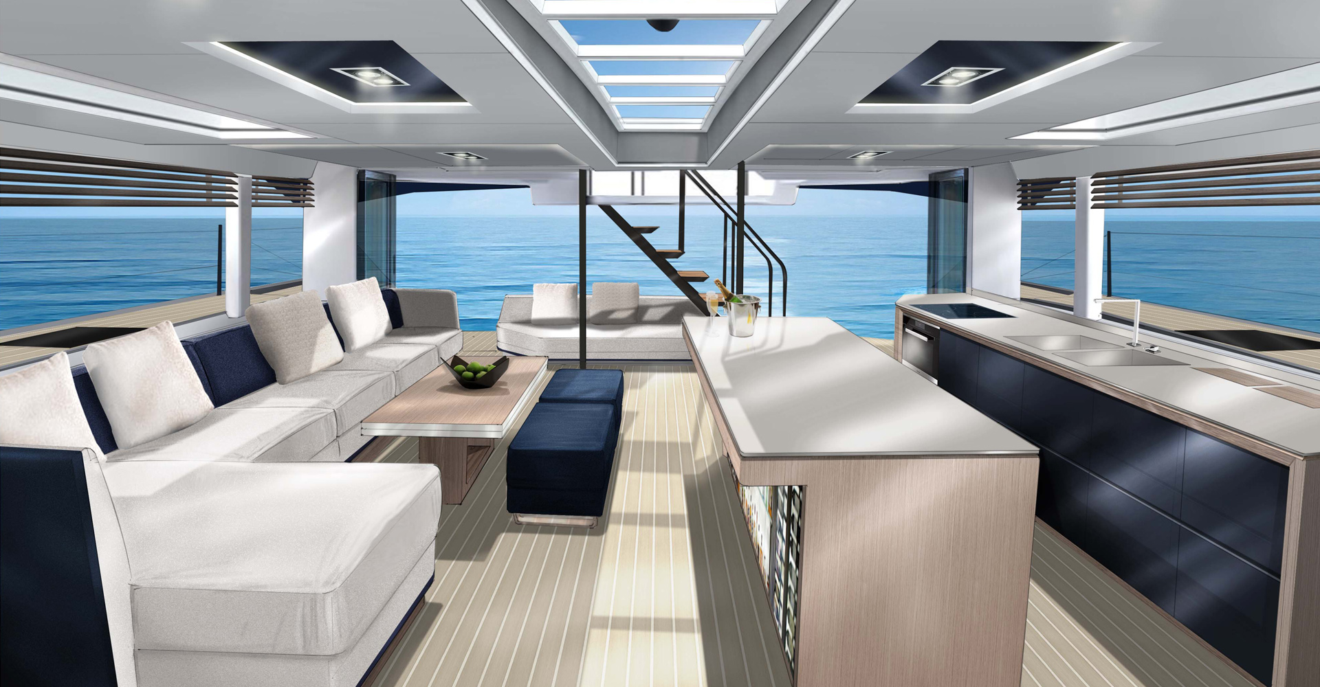 McConaghy multihull interior concept