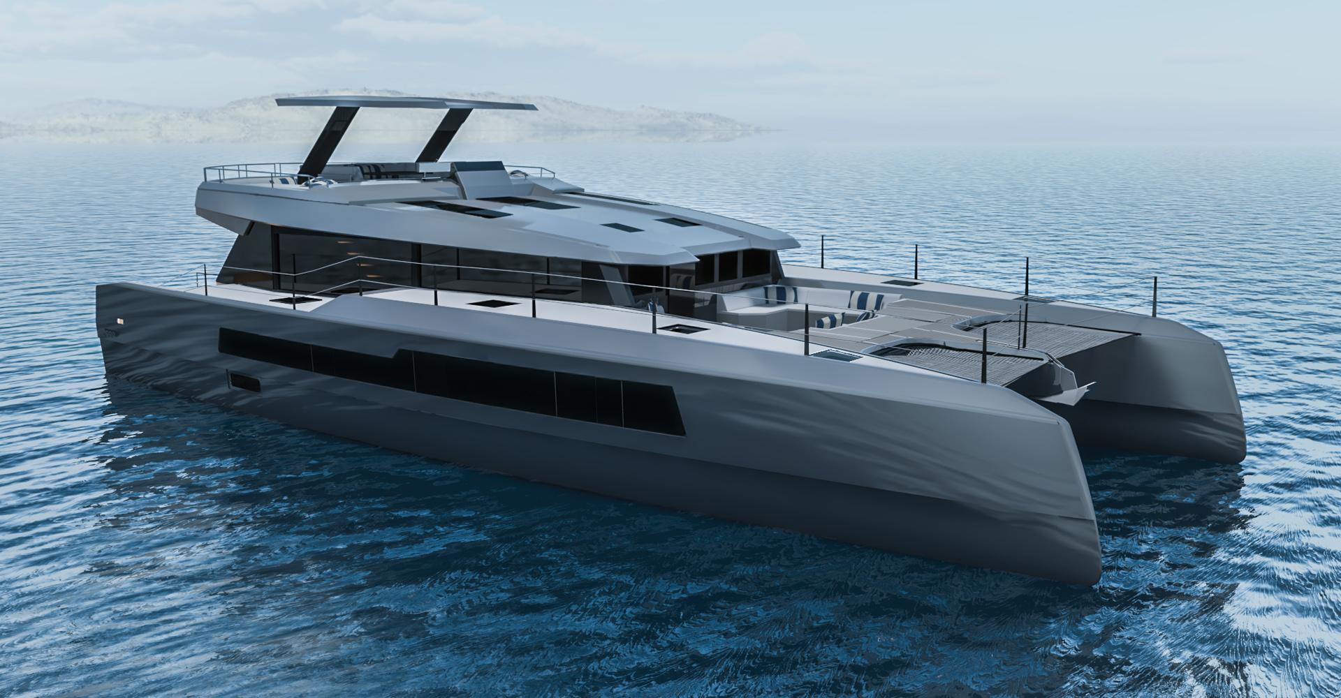 The McConaghy MC59p is a power catamaran
