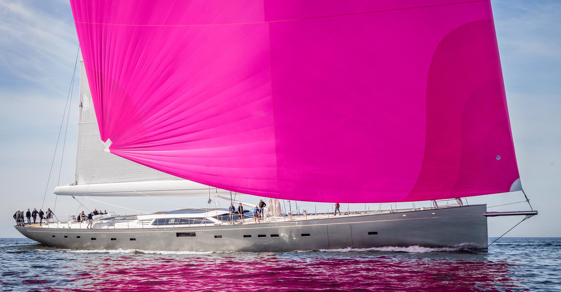 Sailing Yacht Pink Gin VI
