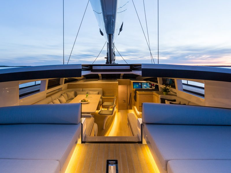 Sailing yacht WinWin was built by Baltic Yachts