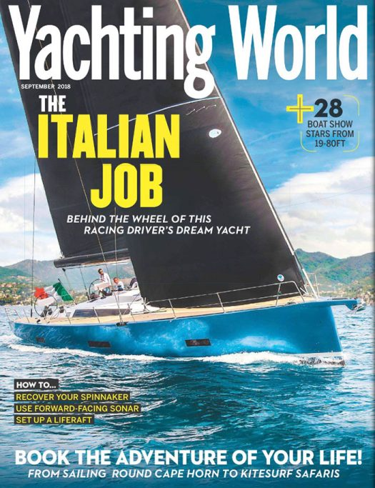 Front Cover of Yachting World magazine