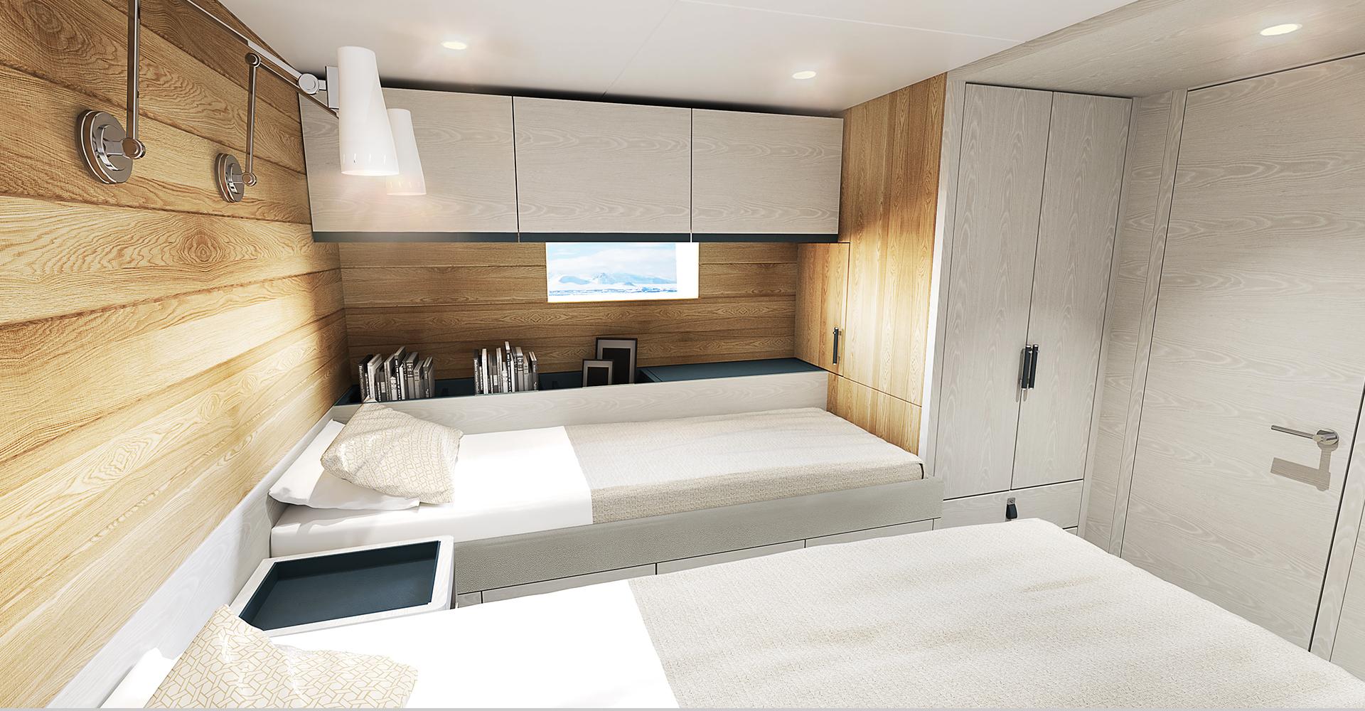 Guest cabin design for Arksen