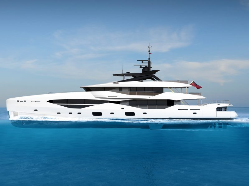 Exterior rendering of the Sunseeker 161