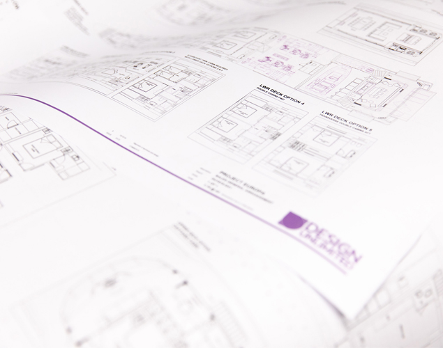 Space planning and general arrangement drawings