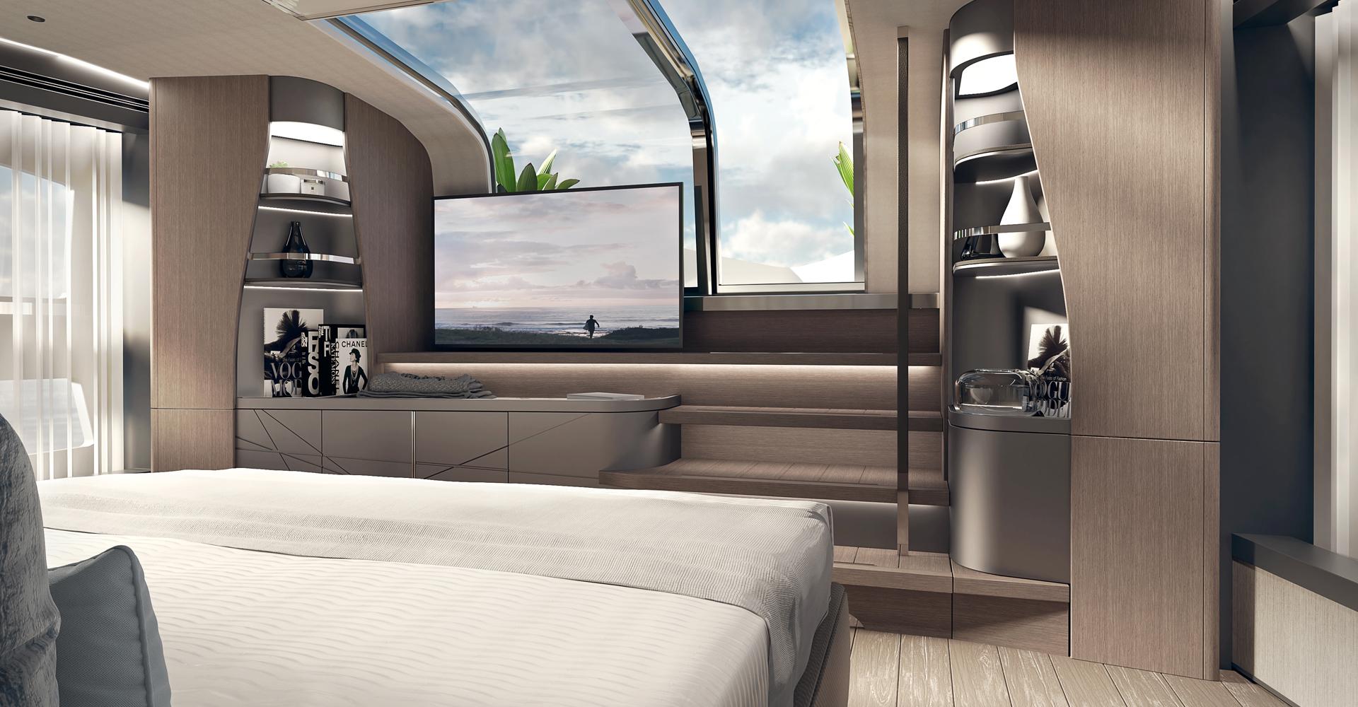 Sunseeker 100 yacht accommodation