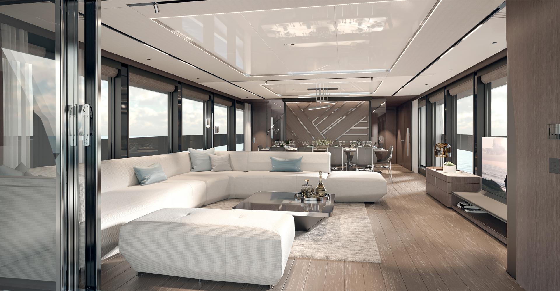 Luxury lifestyle aboard sunseeker 100 motoryacht