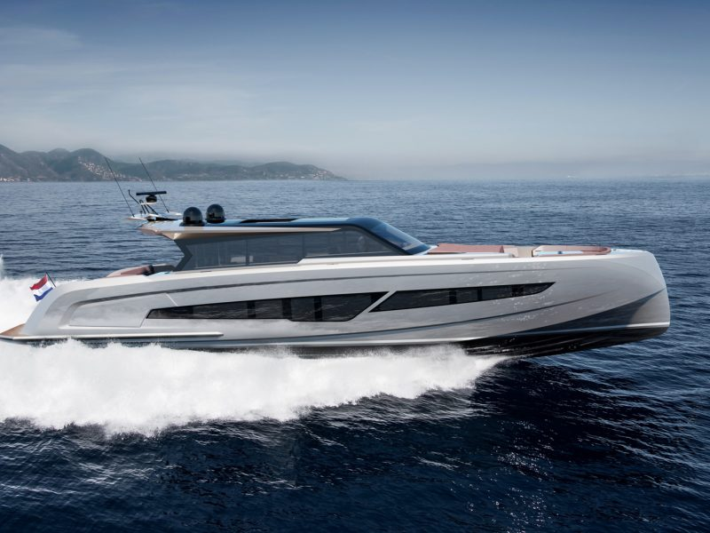 Vanquish 80 motor yacht