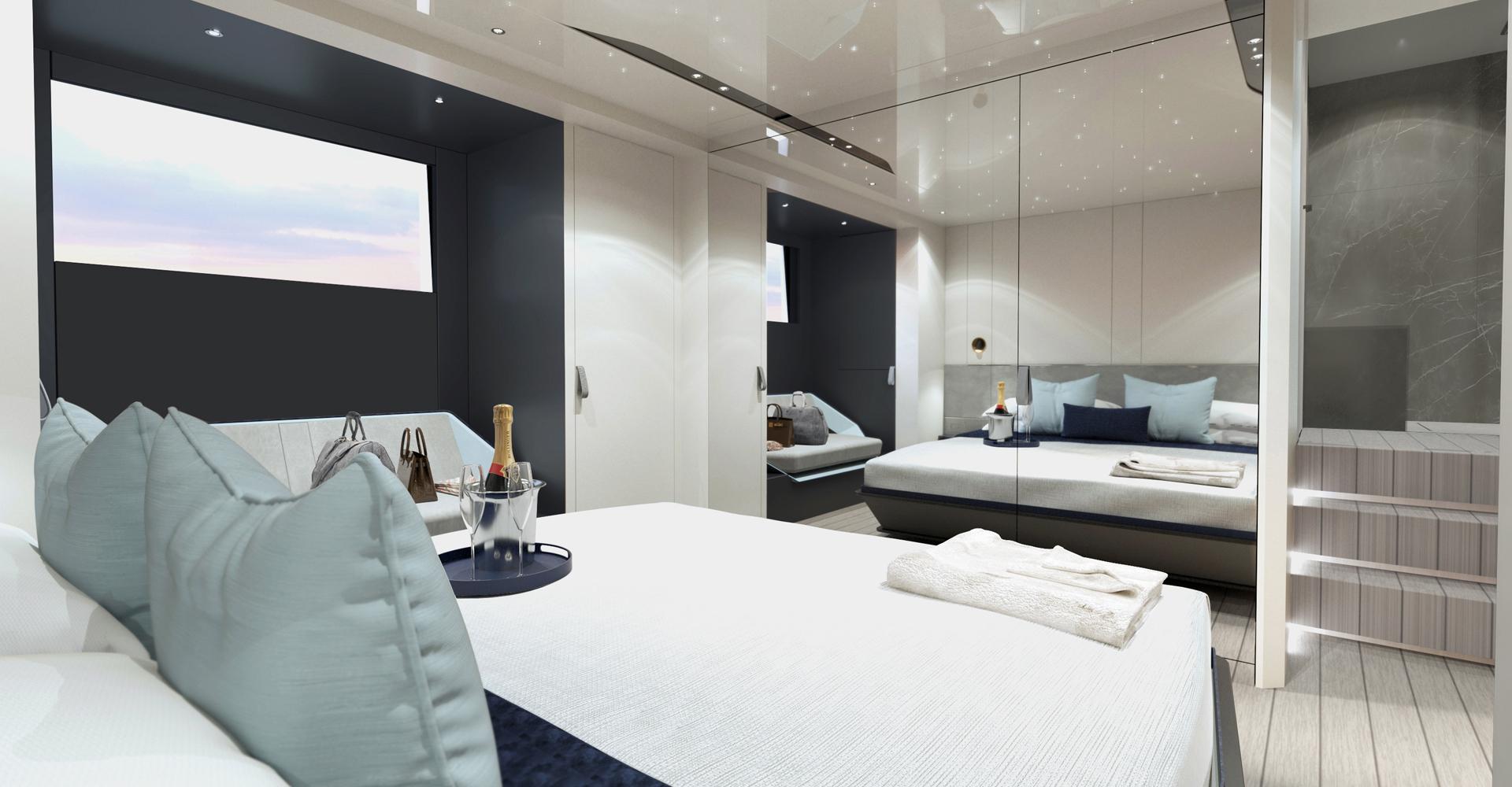 Vanquish master bedroom