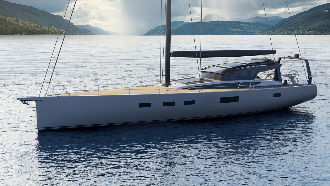 Baltic 67PC sailing yacht