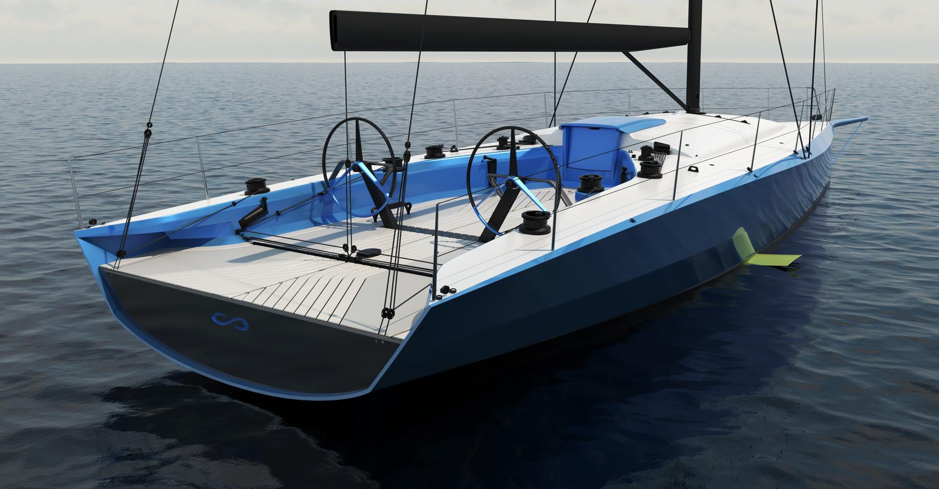 Infiniti 52 yacht design
