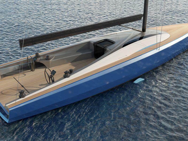 Infiniti 60 yacht design