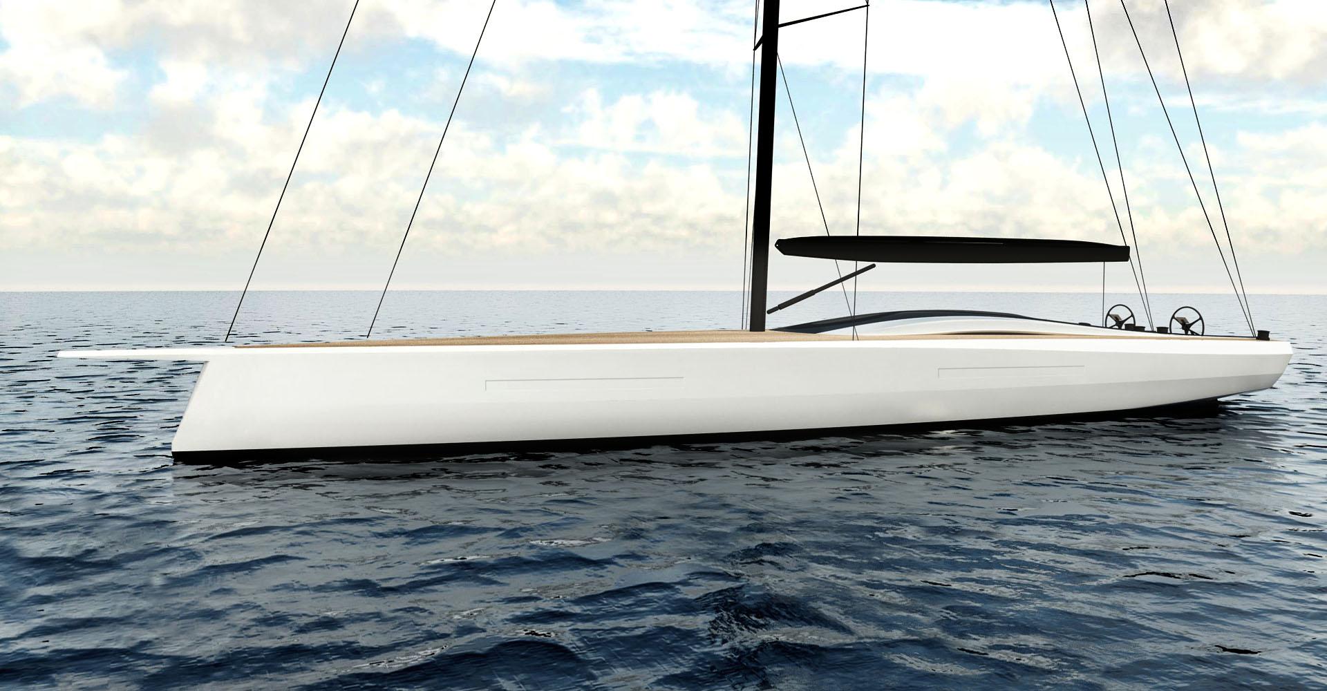 Infiniti 85 yacht