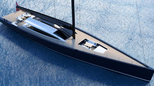 sailing superyacht