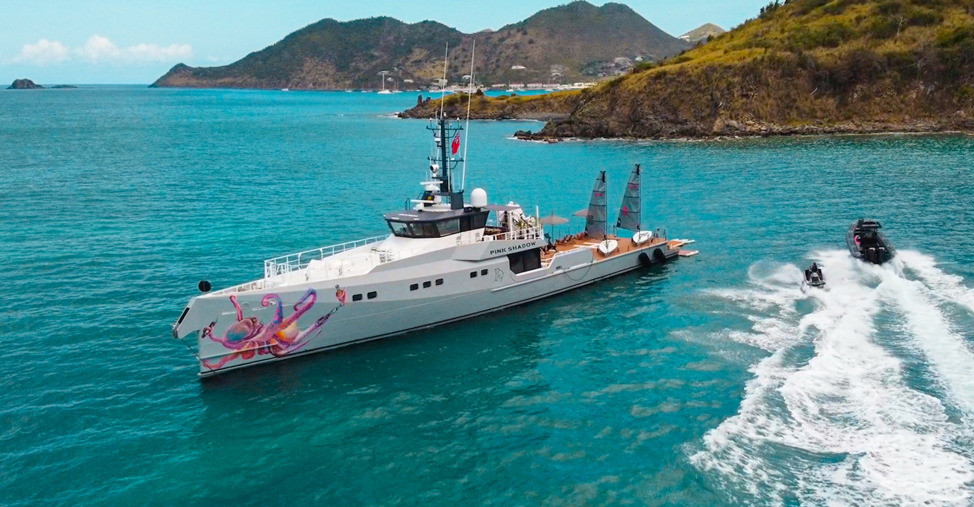 Pink Shadow superyacht